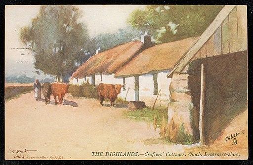 A Highland Cottage (Public Domain)